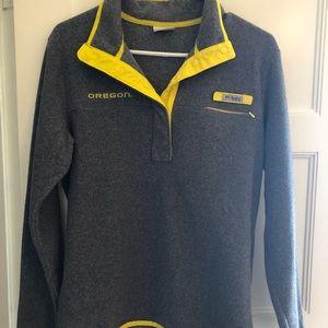 Oregon Duck Columbia Sportswear pullover